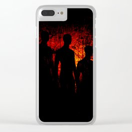 Dream of Shadows Clear iPhone Case