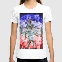 ronaldo T-shirts featuring Ronaldo & Ramos by Cr7izbest
