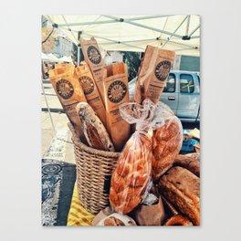 Bread Day Canvas Print