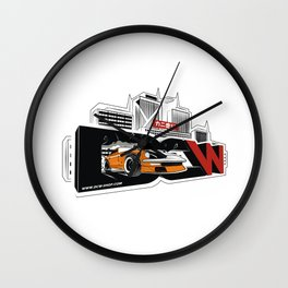 The Master Z - Datsun 280z by DCW classic Wall Clock