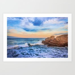 Bay of Biscay Art Print