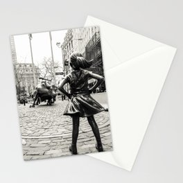 Fearless Girl & Bull - NYC Stationery Cards