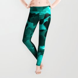 Clear Blue Fluidity Leggings