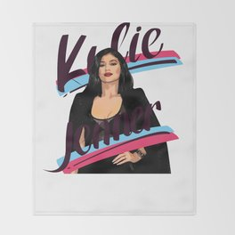 Kylie Jenner Throw Blanket
