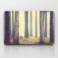 woods iPad Cases featuring Woods  by Slight Clutter