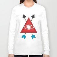illuminati Long Sleeve T-shirts featuring Illuminati by Lucas de Souza