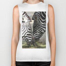 CArt Zebras Biker Tank