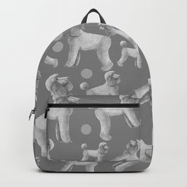 Poodle - standard - abricot Backpack