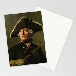 Frederick the Great Painting Stationery Cards