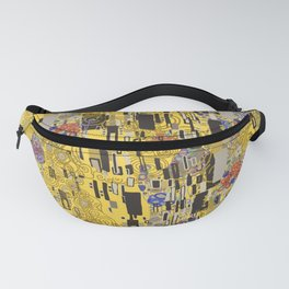Gold Explosion Fanny Pack