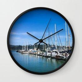 Sausalito Blues Wall Clock