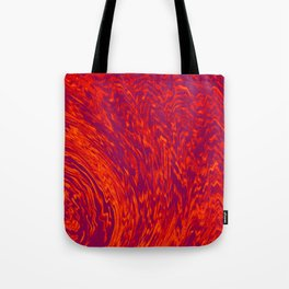 Electric Wave Tote Bag