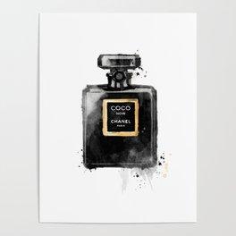 Perfume bottle fashion Poster