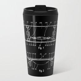 Skateboard Schematics Travel Mug