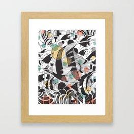 Fly Fish II Framed Art Print