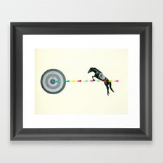 On Target : Sagittarius Framed Art Print