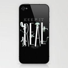 Keep it Real iPhone & iPod Skin