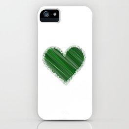 Earthy Love iPhone Case