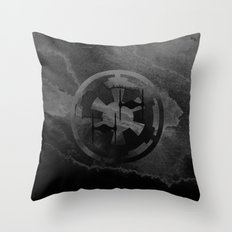 Star Wars Imperial Tie Fighters in Gray Throw Pillow