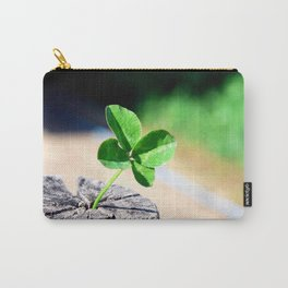 Four leaf clover for good luck Carry-All Pouch