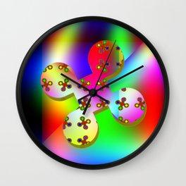 Five-pöints-feelings Wall Clock