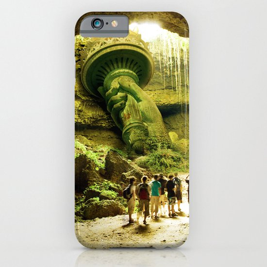 Journey to Lady Liberty iPhone & iPod Case