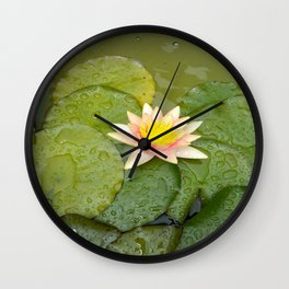 Lily-Livered Scoundrel Wall Clock