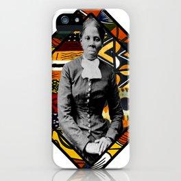 Tubman Afro Diamond iPhone Case