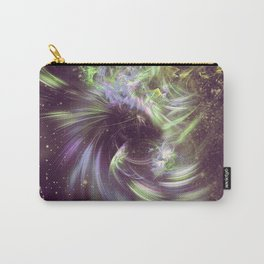 Twisted Time - Black Hole Effects Carry-All Pouch
