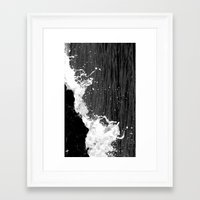 splash Framed Art Prints featuring splash by Bunny Noir