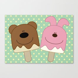 Candy bar Canvas Print