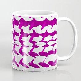 elipse grid pattern_magenta02 Coffee Mug