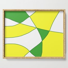 Abstract Painting #4 Serving Tray