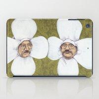 men iPad Cases featuring Flower Men by Jason Ratliff