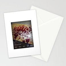 Battle Royale - Japanese film poster Stationery Cards
