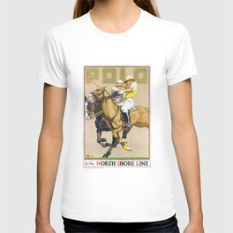 1923 Polo By The North Shore Line Transit Poster T-shirt