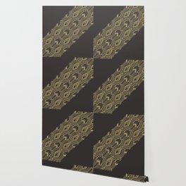 Art Deco Geometric Glam Wallpaper