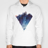 nature Hoodies featuring Near to the edge by Robert Farkas