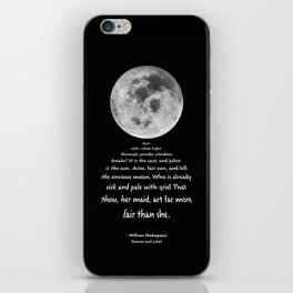 Moon Bridge Shakespeare iPhone Skin