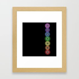chakras Framed Art Print