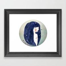 I am the Sky Framed Art Print