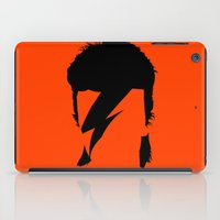 bowie iPad Cases featuring BOWIE by eve orea