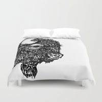 bison Duvet Covers featuring Bison by turquoisecactus