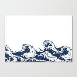 This old Sea  Canvas Print