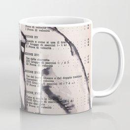 Thoughts - Feminine nude ink drawing Coffee Mug