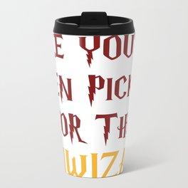 Gryffindor Training Triwizard Metal Travel Mug