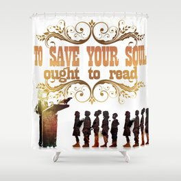 Read Shower Curtain