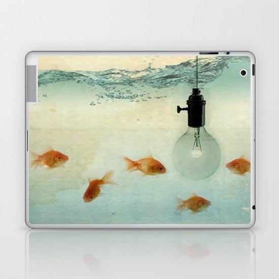 Fishing for ideas Laptop & iPad Skin