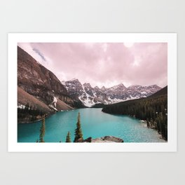 Moraine Lake Banff National Park Art Print