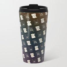 FORTUNE PATTERN Metal Travel Mug
